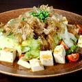 料理メニュー写真和風豆腐サラダ・チョレギサラダ