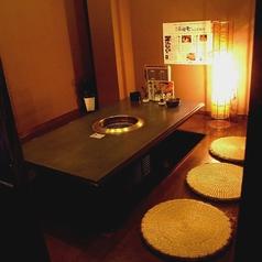 【完全個室】 6名様までの完全個室です。