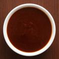 【ガーリックソース】醤油、ニンニク、生姜の食欲をそそる絶妙なバランスで、ご飯がすすみます。お好みのソースで★
