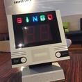 2次会に★ビンゴゲーム機もご用意しております。