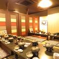 中洲で大宴会なら当店で!70名様まで収容可能なお部屋で食べて、飲んで盛り上がること間違いなしです!