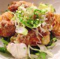 料理メニュー写真博多一番鶏の竜田揚げ