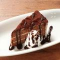 料理メニュー写真生チョコケーキ/ストロベリーケーキ/レアチーズケーキ