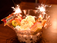 金魚鉢パフェ!!