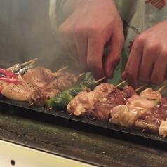 料理メニュー写真備長炭焼きの焼き鳥