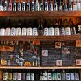 200種以上の入荷困難な日本酒・地酒の数々を★飲み比べプランもご用意ございますので、珍しい日本酒から、お好みの銘柄を探す楽しみも♪
