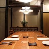 2階個室席。接待・食事会・顔合わせなどに。4名様~8名様でご利用いただけます。