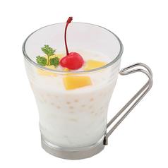 料理メニュー写真ココナッツミルクと杏仁豆腐/よくばり3種の抹茶パフェ