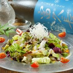 鮮魚とアボカドのサラダ
