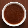 【デミグラスソース】濃いめに仕上げたコクのある王道のデミグラスソースは、ハンバーグにもステーキにも相性抜群です。お好みのソースで★