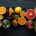 女性に人気の季節のフルーツサングリアはその時期に一番美味しいフルーツを使用しております!お酒が苦手な方にも美味しく楽しんでいただけるドリンクとなっているので、当店へお越しの際にはぜひご賞味いただきたいドリンクの一つです♪