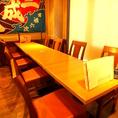 会社の宴会でもピッタリなテーブル席♪歓迎会・送別会に是非ご利用下さい!!