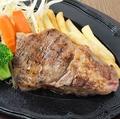 料理メニュー写真炭火焼きHIROステーキ  150g