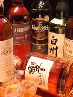ワインやウイスキー、ブランデーも多数有☆