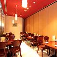 お気軽にお食事を楽しみ頂ける空間。様々な個室に対応致します。