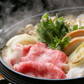 料理メニュー写真十勝和牛のすき焼き