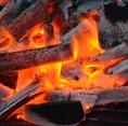 毎朝仕入れた新鮮な鶏肉を毎日その日のうちに串うち!こだわりの備長炭で焼きあげるので香りの違いがわかります。