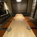 【禁煙席】モダンな落ち着いた空間の室内は、最大34名様までご利用可能です。