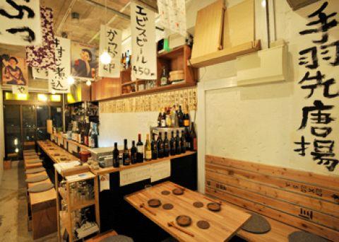 エビスの生ビールが450円!手羽先唐揚げと本格手打ちそばが食べれるお店。