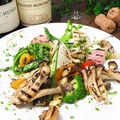 料理メニュー写真焼き野菜プレート