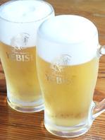 エビスビール飲み放題♪