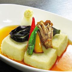 豆腐と野菜の揚げ出し