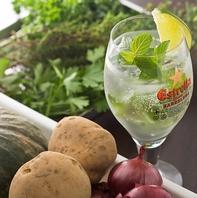 【自家菜園】ハーブや野菜は、地元の新鮮なものを…