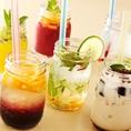 カシス、梅酒、カルーア、ワイン、シャンパン♪女性のお客様に喜ばれる飲み物が多数!!