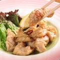 料理メニュー写真ミノ(白肉)の塩焼き