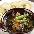 料理メニュー写真2種の選べるアヒージョ