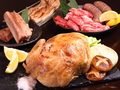 料理メニュー写真【丸どり・牛ステーキ・サムギョプサル含む】焼肉食べ放題コース!贅沢ビアガーデン♪