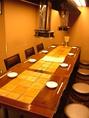 8名掛けテーブルのほか、4名掛け・カウンターなどシーンに合わせてお使いください