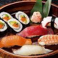料理メニュー写真お手軽寿司盛り合せ