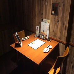 雰囲気の良い空間でゆっくりとご歓談しながらお食事頂けます。普段の食事はもちろんのこと、デートや記念日、誕生日など特別な日のご利用にも!