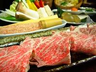 2H飲放付池田牛六白豚野菜を堪能しゃぶゝコース7000円込