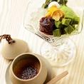 滑らかほうじ茶ブリュレ300円(税抜)食後のデザートにオススメ!!