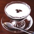 料理メニュー写真自家製コーヒーゼリー