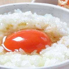 料理メニュー写真日本一こだわり卵のかけごはん
