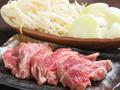 料理メニュー写真ジンギスカンセット
