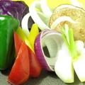 料理メニュー写真豪華な焼野菜