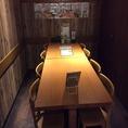 会食にご利用いただきやすいテーブル個室をはじめ調理風景が眺められる臨場感あるカウンター席もございます。