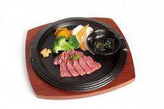富山牛と野菜の鉄板焼き