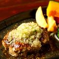 料理メニュー写真牛タンハンバーグ(S=150g)