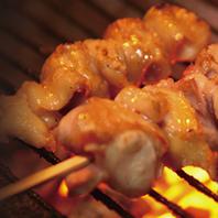 七谷地鶏を多彩な調理で堪能下さい。