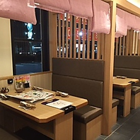 ゆったりできるテーブル席【しゃぶしゃぶ/肉/食べ放題】