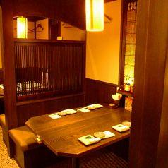 2~4名様用のテーブル席