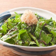 料理メニュー写真■塩昆布サラダ【和風ドレッシング】