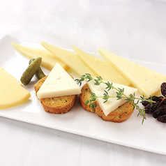 スペイン産 チーズの盛合せ