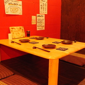 【4名テーブルのお座敷】お仕事帰りのご宴会や、女子会におすすめの4名お座敷席です