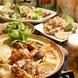 隠りど特製鶏鍋付き各種宴会コースは3500円~